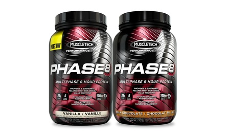 MuscleTech Phase8 Protein Powder 2.5lb. Tub