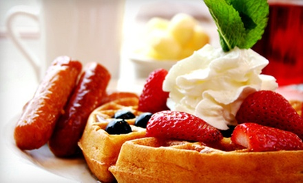 American Lunch or Breakfast for Two or Four at The Brunchery (Up to 54% Off)