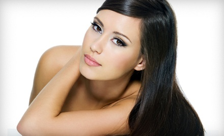 One or Two Keratin Hair-Smoothing Treatments at Soteria Hair Express (Up to 76% Off)