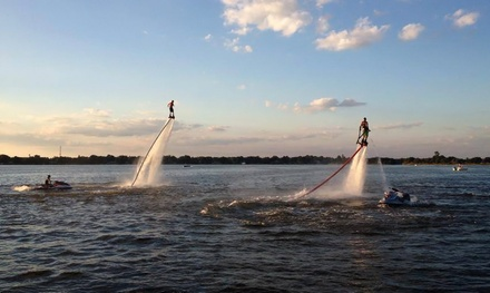 $99 for a 30- to 60-Minute Flyboard Rides at Absolute Aqua Sports ($199 Value)