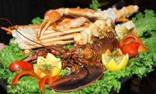 $20 for $40 Worth of Seafood and Drinks at King Crab Tavern and Seafood Grill
