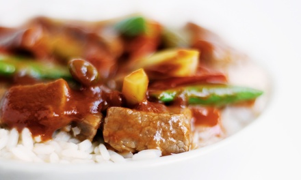 $12 for $20 Worth of Pan-Asian Cuisine at Beijing Tokyo