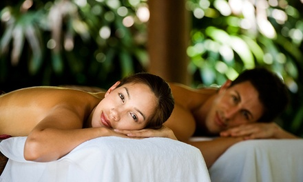 60-Minute Couples Massage or Massage of Your Choice and a 30-Minute Facial at Peaceful Oceans (Up to 54% Off)