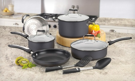 Cuisinart Pro Classic 10-Piece Cookware Set with Stainless-Steel or Hard-Anodized Finish. Free Returns.