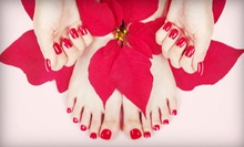 $29 for a No-Chip Manicure and a Regular Pedicure at Corazon's Nail Salon ($65 Value)