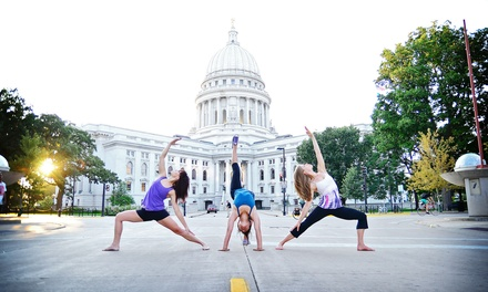 10 or 20 Yoga Classes at Bliss Flow Yoga (Up to 82% Off)