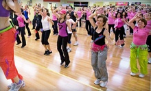 10 Zumba Classes or One Month of Unlimited Zumba Classes at Studio M Dance Fitness (Up to 81% Off)