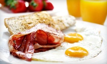 Caf Breakfast or Lunch at Le Peep (Half Off). Two Options Available. 