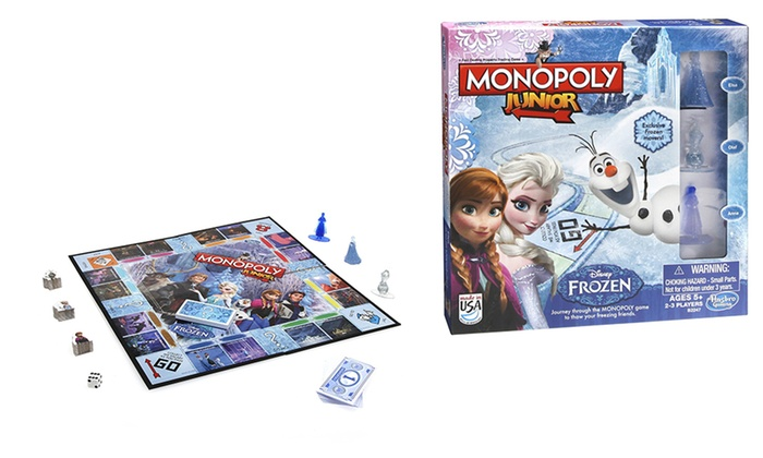Monopoly junior frozen edition for 163 16 99