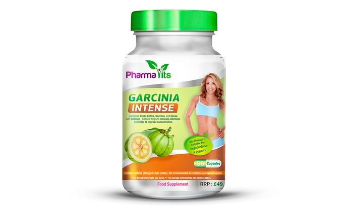 Suplemento alimentar dietético Garcinia Cambogia Intense para 1, 2 ou 3 meses desde 12,90€