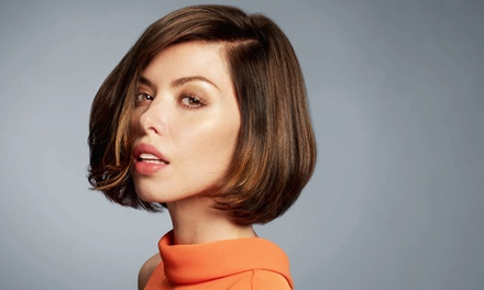 Haircut with Conditioning, Color, or Highlights, or Chi Enviro Blowout Package at Fantastic Sams (Up to 56% Off)