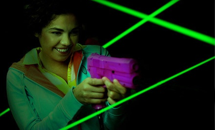 Laser Tag and Batting-Cage Tokens for 2 or 4, or a Laser-Tag Party for Up to 20 at Casey&#x27;s SportsWorld (Up to Half Off)