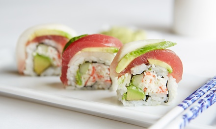 Japanese Cuisine at Tabu Sushi Bar & Grill (Up to 41% Off). Two Options Available.