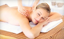 One or Three 60-Minute Deep-Tissue Massages at Aqua Hair Salon and Spa (62% Off) 