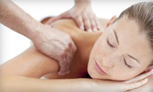 Spa Package with Massage, Face-Lift Facial, and Optional Back Scrub at Massage Soleil &amp; Petite Spa (Up to 53% Off)