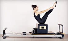 Four Group Tower, Reformer, or Barre Classes or Three Private Lessons at Pilates of New Jersey (Up to 70% Off)