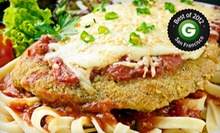 Three-Course Italian Lunch or Dinner for Two, Four, or Six at Michelangelo Ristorante & Caffe (Up to 55% Off)