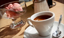 Five Medium Lattes or Single-Scoop Ice-Cream Cones at Cannon Coffee & Cone (Up to 56% Off)