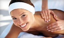 Swedish Massage, Manicure or Pedicure, Sauna Access, and Optional Facial at Queen Jane Day Spa (Up to 69% Off)