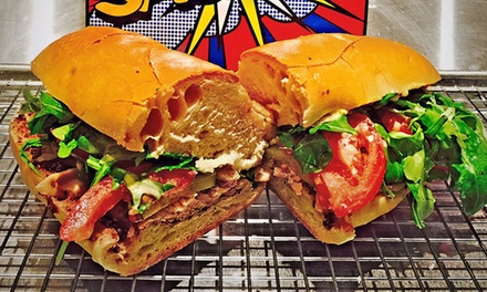 $12 for $20 Worth of Sandwiches and Chips at Sack It!
