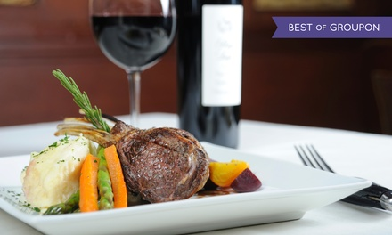 Date Night Four-Course Dinner for Two at JTK Cuisine & Cocktails (33% Off)