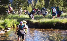 $899 for a 75-Mile Hike Across Sequoia and Kings Canyon National Parks from Trans-Sierra Xtreme Challenge ($1,650 Value)