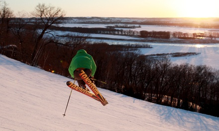 One Adult Lift Ticket with Optional Equipment Rental at Chestnut Mountain Resort (Up to 50% Off)