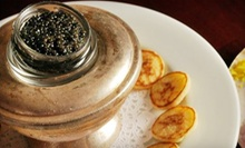 $25 for $50 Worth of Authentic Russian Food, Caviar, and Vodka at Russia House