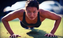 One or Two Months of Unlimited Outdoor Fitness or Zumba Boot-Camp Classes from Innovative Fitness (Up to 82% Off)