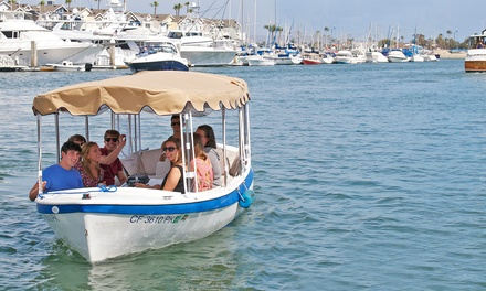 Two-Hour Electric-Boat Rental for 8 or 12 People at Wayward Captain Watersports (Up to 55% Off)