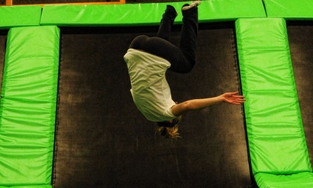 $14 for One Hour of Jump Time for Two at AirMaxx Trampoline Park ($26 Value)
