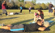 4, 8, or 12 Boot-Camp Classes at HMB Bootcamp (Up to 74% Off)