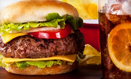 $7 for $14 Worth of American Fare and Drinks at Fat Charlie's Grill in Sapulpa