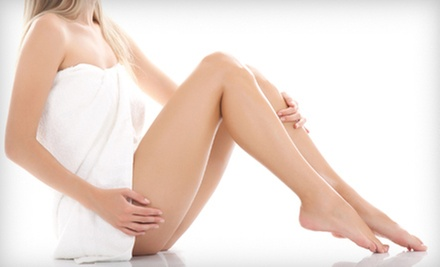 Six Laser Hair-Removal Treatments for a Small, Medium, or Large Area at Deja vu Salon & Spa (Up to 85% Off)