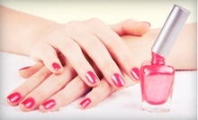 One or Two Mani-Pedis at Casal's De Spa and Salon (55% Off)