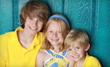 "$35 for In-Studio Baby or Family Photo Shoot for Up to 10 with 16""x20"" Print from CL!X Portrait Studios ($180 Value)"