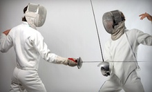 Four or Eight Fencing Classes for One or Two at Rising Stars Fencing Academy (Up to 75% Off)
