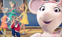 "$39 for Four to See ""Angelina Ballerina: The Musical"" at Music Hall Center on May 5 at 4 p.m. (Up to $108 Value)"