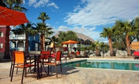 California Resort near Desert Scenery