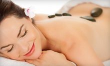 Hot-Stone Massage with Optional Healing Treatment at Hands On Healing Professional Massage Therapy LLC (Up to 56% Off)