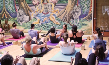 10 or 20 Classes at Goda Yoga (Up to 62% Off)