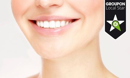 Génese do Tempo — Foz: packs de limpeza dentária com opções de reconstrução e branqueamento LED desde 14,90€