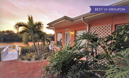 groupon daily deal - 3-, 5-, or 7-Night Stay for Two in a Beach Vacation Bungalow at Siesta Key Bungalows in Siesta Key, FL