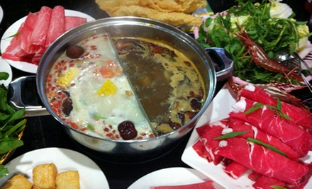 Asian Hot-Pot Cuisine at Antelope Garden Hot Pot (Half Off). Three Options Available.