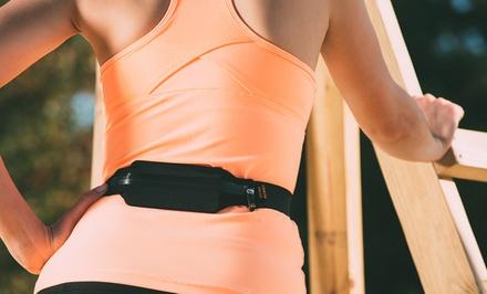 Gear Beast Running Belt with Zippered Smartphone Pocket