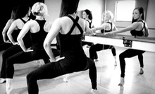 $45 for Five BarreAmped Classes at Purely e barre + pilates ($92.50 Value)