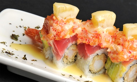 $17 for $30 Worth of Sushi and Japanese Cuisine at Yoki Restaurant