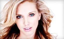 Haircut Packages at Heads of Time Salon (Up to 58% Off). Three Options Available.