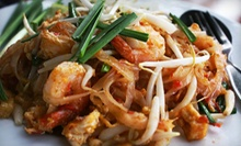 $10 for $20 Worth of Thai Food for Two at Thai Buffet