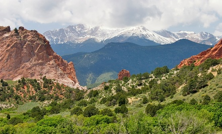 groupon daily deal - Stay at Crestwood Suites Colorado Springs in Colorado, with Dates into August